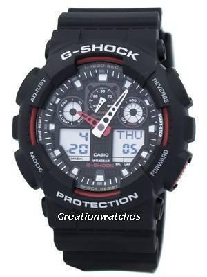 Alarme Indicador de Velocidade de Casio G-Shock GA-100-1A4 GA100-1A4 Relógio dos homens