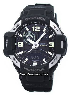 Casio G-Shock Gravitymaster Twin Sensor GA-1000-1B GA1000-1B Men's Watch
