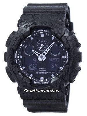 Casio G-Shock Shock Resistant World Time Analog Digital GA-100CG-1A GA100CG-1A Men's Watch