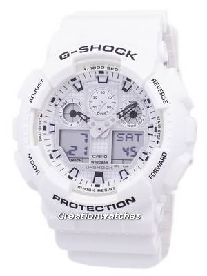 Casio G-Shock Shock Resistant Analog Digital GA-100MW-7A GA100MW-7A Men's Watch