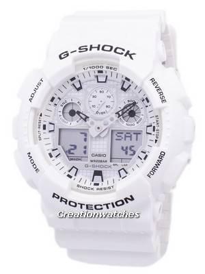 Casio G-Shock Shock Resistant Analog Digital GA-100MW-7A GA100MW-7A Men\'s Watch