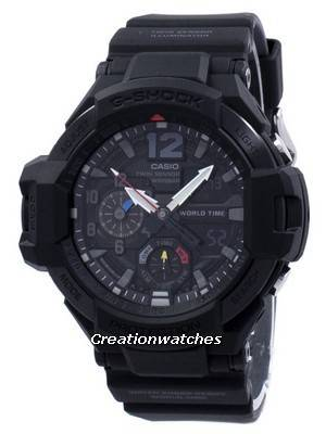 Casio G-Shock Gravitymaster Twin Sensor World Time GA-1100-1A1 GA1100-1A1 Men's Watch
