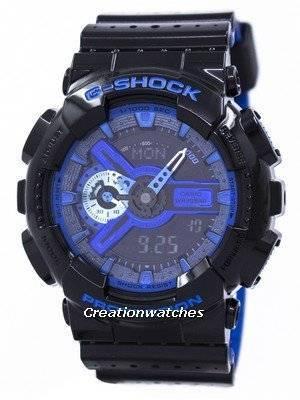 Casio G-Shock Shock Resistant World Time Analog Digital GA-110LPA-1A GA110LPA-1A Men's Watch