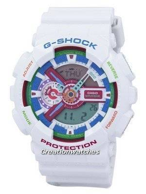 Casio G-Shock Shock Resistant Analog Digital GA-110MC-7A GA110MC-7A Men's Watch