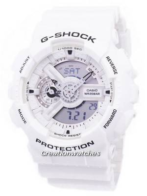 Casio G-Shock Shock Resistant Analog Digital GA-110MW-7A GA110MW-7A Men's Watch