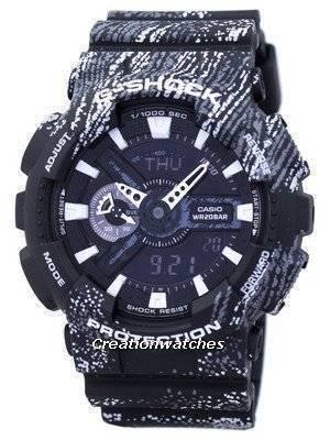 Casio G-Shock Shock Resistant World Time Alarm Analog Digital GA-110TX-1A GA110TX-1A Men's Watch