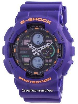 Casio G-Shock World Time Quartz GA-140-6A GA140-6A 200M Men\'s Watch