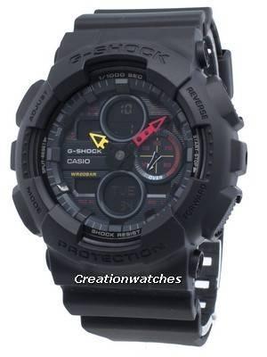 Casio G-Shock GA-140BMC-1A GA140BMC-1A World Time Quartz 200M Men's Watch