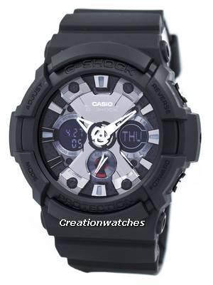 Casio G-Shock Analog-Digital GA-201-1A GA201-1A Men's Watch