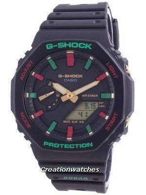 Casio G-Shock World Time Quartz GA-2100TH-1A GA2100TH-1A 200M Men\'s Watch