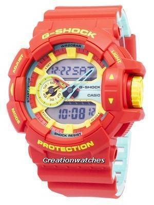 Casio G-Shock Special Color Models GA-400CM-4A Illumination Analog Digital 200M Men's Watch