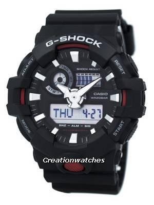 Casio G-Shock Illuminator Analog Digital GA-700-1A GA700-1A Men's Watch