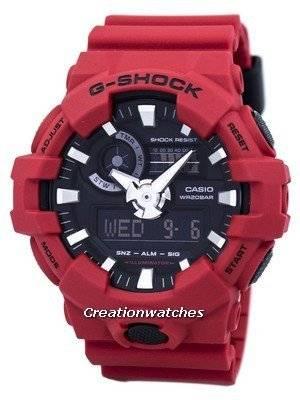 Casio G-Shock Analog Digital 200M GA-700-4A GA700-4A Men's Watch