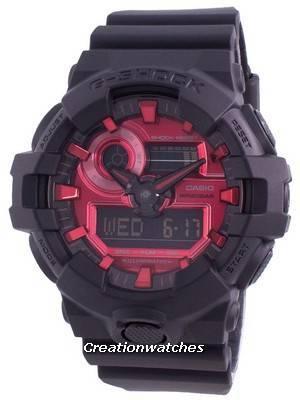 Casio G Shock GA-700AR-1A Quartz Shock Resistant 200M Men\'s Watch