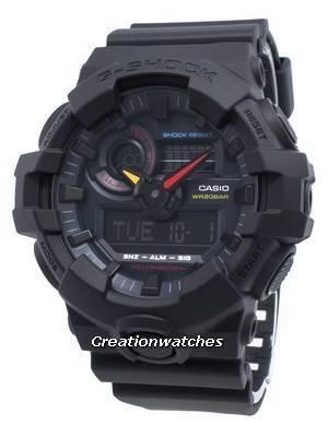 Casio G-Shock GA-700BMC-1A GA700BMC-1A World Time Quartz 200M Men's Watch