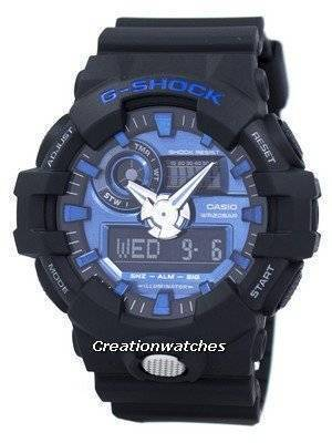 Casio G-Shock Analog Digital 200M GA-710-1A2 GA710-1A2 Men's Watch