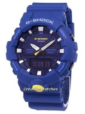 Casio G-Shock Shock Resistant Analog Digital 200M GA-800SC-2A GA800SC-2A Men's Watch