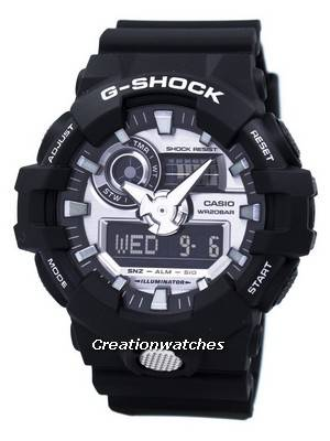 Casio G-Shock Analog Digital 200M GA-710-1A GA710-1A Men's Watch