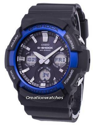 Casio G-Shock Tough Solar Analog Digital 200M GAS-100B-1A2 GAS100B-1A2 Men's Watch