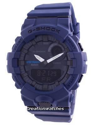 Casio G-Shock G-Squad Bluetooth Quartz GBA-800-2A GBA800-2 200M Men\'s Watch