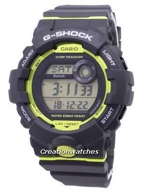 Casio G-Shock GBD-800-8 Bluetooth Illuminator Digital 200M Men's Watch