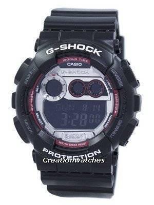 Casio G-Shock World Time Flash Alert GD-120TS-1 GD120TS-1 Men's Watch