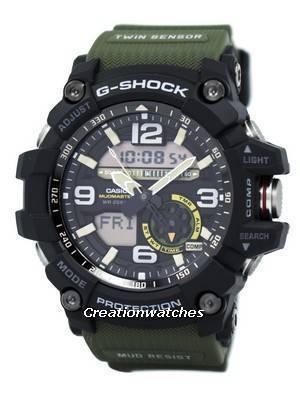 Casio G-Shock Mudmaster Analógico Gêmeo Digital GG-1000-1A3 GG1000-1A3 Relógio Dos Homens