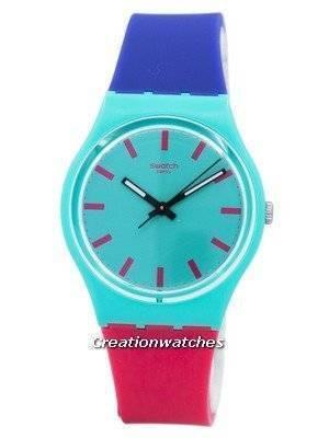 Swatch Originals Shunbukin Quartz Multicolor GG215 Unisex Watch