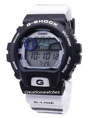 Casio G-Shock G-Glide GLX-6900SS-1 GLX6900SS-1 Illuminator Quartz 200M Men's Watch