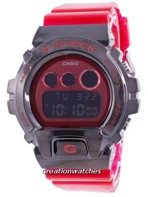 Casio G-Shock Ion Plated Resin GM-6900B-4 GM6900B-4 200M Men\'s Watch