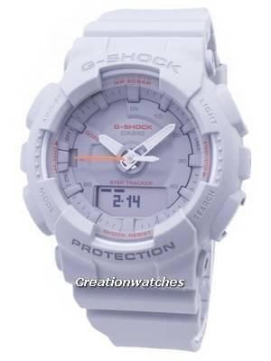 Casio G-Shock S Series GMA-S130VC-8A GMAS130VC-8A Step Tracker Analog Digital 200M Women's Watch