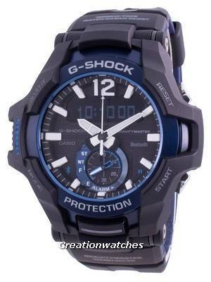 Casio G-Shock Gravity Master Bluetooth Quartz GR-B100-1A2 GRB100-1A2 200M Men\'s Watch
