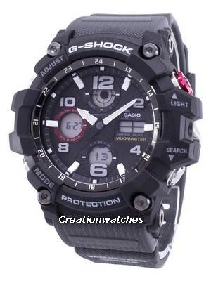 Casio G-Shock Mudmaster Tough Solar 200M GSG-100-1A8 GSG100-1A8 Men's Watch