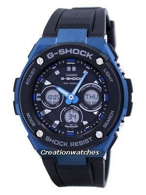Casio G-Shock Tough Solar Shock Resistant Alarm GST-S300G-1A2 GSTS300G-1A2 Men's Watch