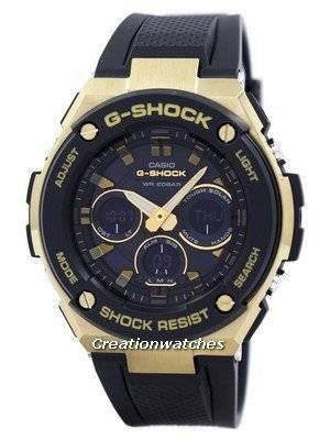Casio G-Shock Tough Solar Shock Resistant Alarm GST-S300G-1A9 Men's Watch