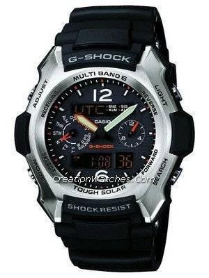 Casio G Shock Radio Atomic Controlled Multi Band 6 GW-2500B-1AJF