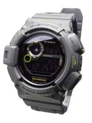 Casio G Shock Men in Smokey Gray Mudman GW-9300GY-1JF Watch