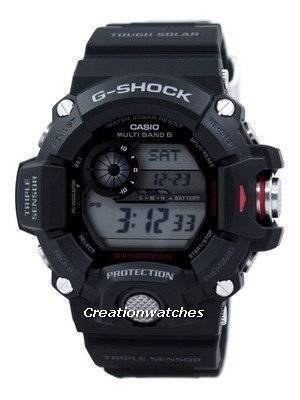 Casio Rangeman G-Shock Triple Sensor Atomic GW-9400-1 GW9400-1 Men's Watch