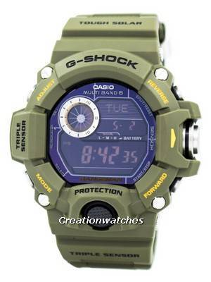 Casio G-Shock Rangeman Multi-Band Atomic GW-9400-3 GW9400-3 Men\'s Watch