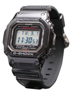 Casio G shock GW-S5600-1JF GWS5600-1JF Carbon Fiber Insert Band MULTI BAND 6 Limited Edition Watch
