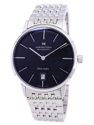 Hamilton Automatic Black Dial H38455131 Men's Watch