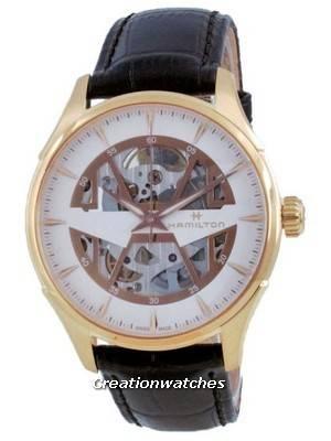 Hamilton Jazzmaster Skeleton Automatic H42505510 Men\'s Watch