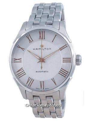 Hamilton Jazzmaster Automatic Silver Dial H42535150 Men\'s Watch