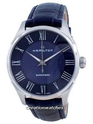 Hamilton Jazzmaster Automatic Blue Dial H42535640 Men\'s Watch