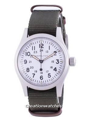 Hamilton Khaki Field White Dial Automatic H69439411 Men\'s Watch