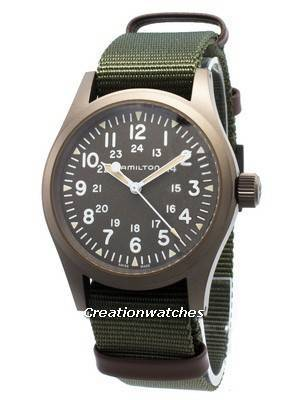 Hamilton Khaki Field H69449961 Power Reserve Mechanical Men\'s Watch