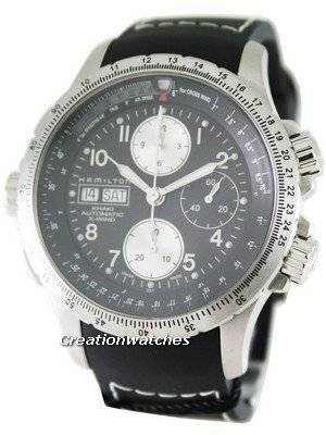 Hamilton Khaki X-Wind Automatic Chronograph H77616333 Men's Watch