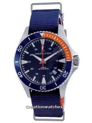 Hamilton Khaki Navy Scuba Automatic H82365941 100M Men\'s Watch