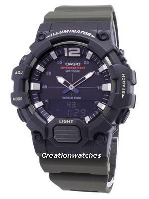 Casio Youth HDC-700-3AV Illuminator Quartz Analog Digital Men's Watch