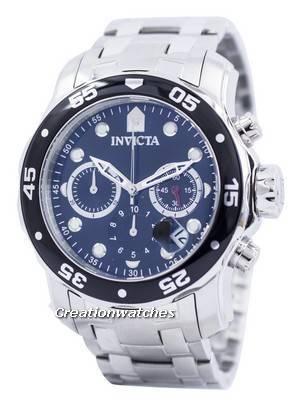 Invicta Pro Diver Chronograph 200M 0069 Men's Watch
